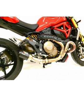 Ducati 1200 Monster Slip-on Exhaust System