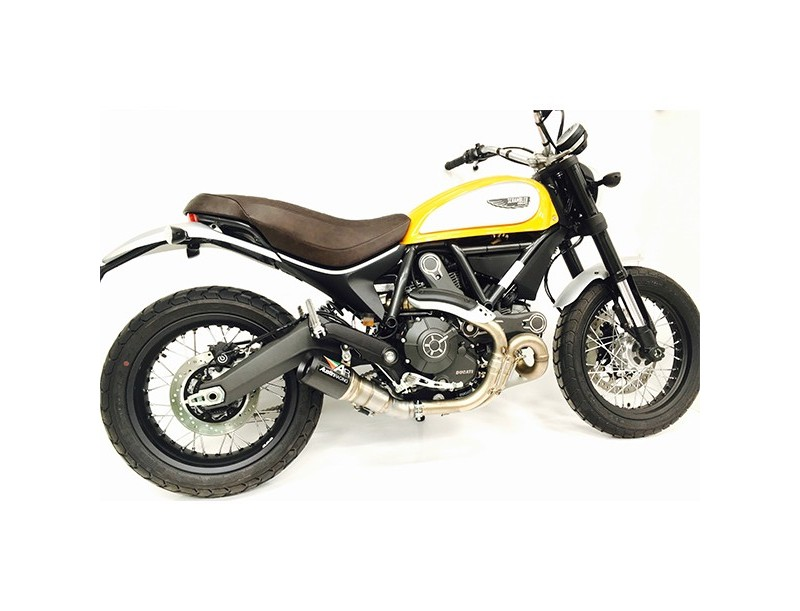 SCRAMBLER 800 & 400 DE-CAT EXHAUST SYSTEM