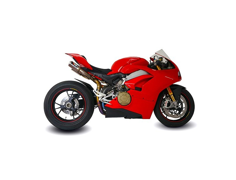 PANIGALE V4 UNDERSEAT RS22 3/4 DE-CAT SYSTEM