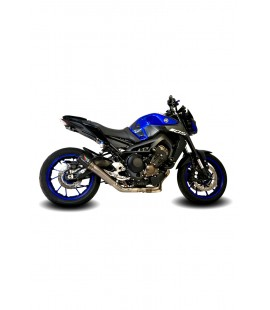 YAMAHA MT09 GP1 & GP1R/GP2 & GP2R DE-CAT EXHAUST SYSTEM