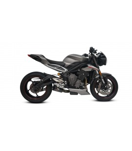 TRIUMPH STREET TRIPLE 765 GP3 DE-CAT EXHAUST SYSTEM