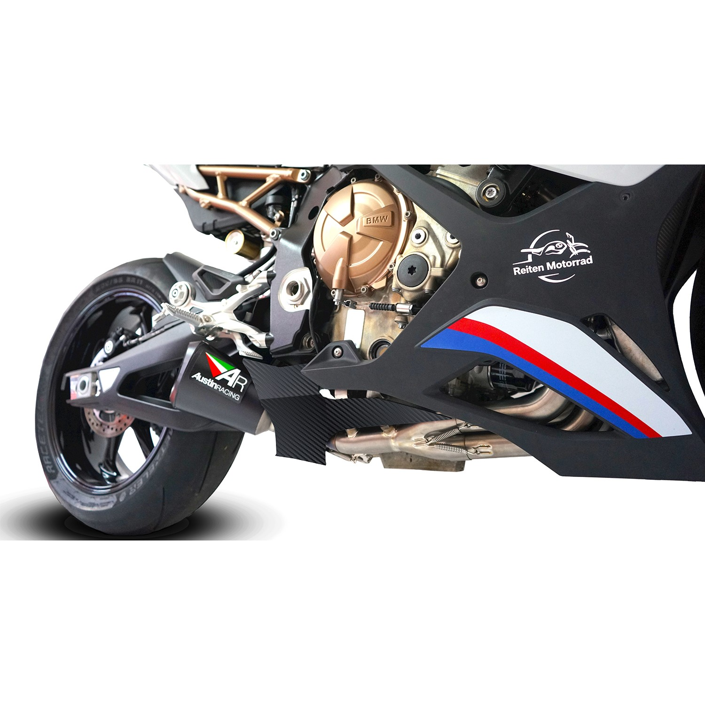 New BMW S1000RR S1000R Rear Swingarm Swing Arm Panel Cover Carbon Fiber Fibre