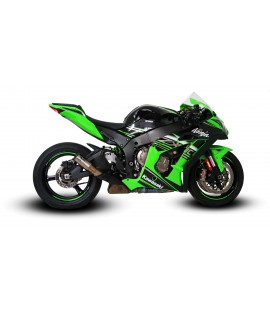 KAWASAKI ZX10R 2010 -2020 SLIP-ON EXHAUST SYSTEM
