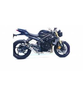 TRIUMPH 675 STREET TRIPLE GP1/GP1R & GP2/GP2R SLIP-ON EXHAUST SYSTEM
