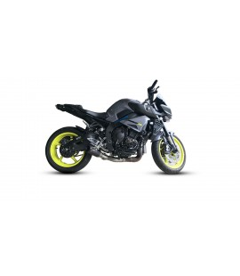 Yamaha MT10/FZ10 GP3 Belly Exit De-Cat Exhaust Systems