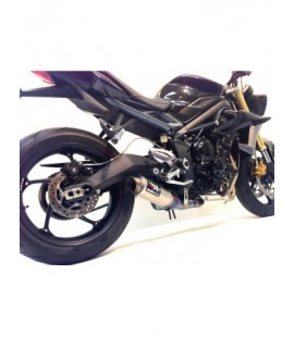 TRIUMPH 675 STREET TRIPLE GP3 SLIP-ON EXHAUST SYSTEM
