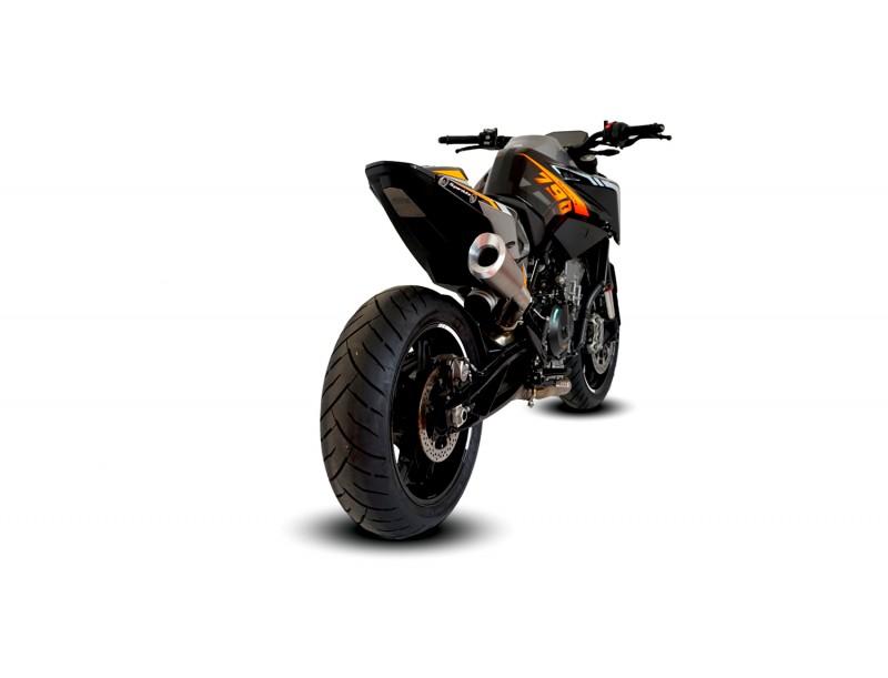 KTM DUKE 790 HI-SLUNG SLIP ON & DE-CAT EXHAUST SYSTEMS